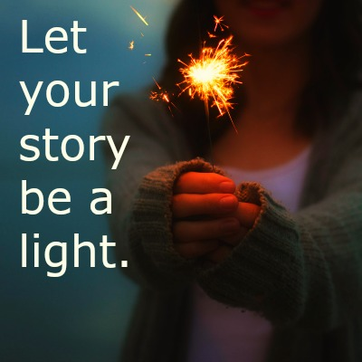 Be a light with stories